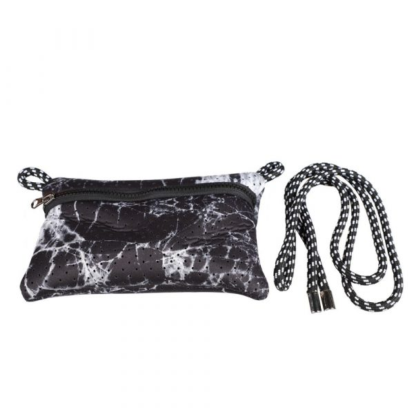 purse for marble neoprene tote